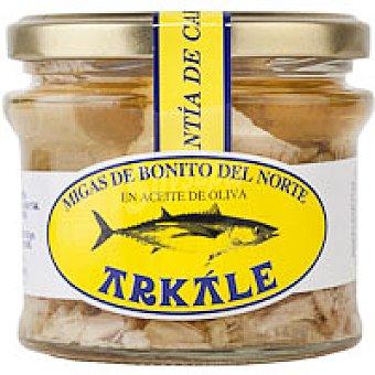 Arkale Migas de bonito en aceite de oliva Frasco 150 g