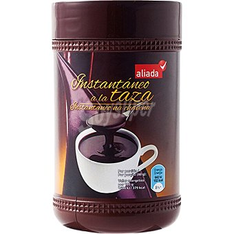 Aliada Chocolate a la taza instantáneo Bote 500 g