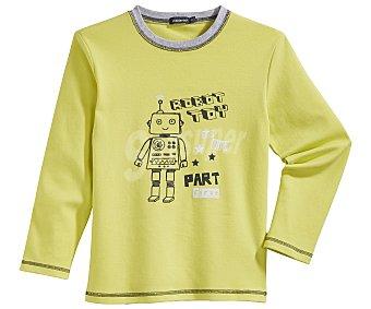 In Extenso Pijama largo para niño, color verde, talla 2