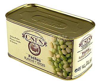 OSÉS Pochas blancas y verdes 780 g