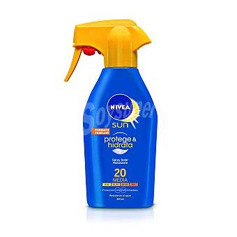 Nivea Sun spray solar protege&hiddrata sfp 20 pistola 300 ml