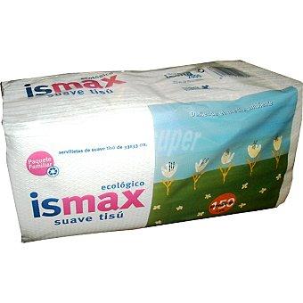 Ismax Servilletas suaves 1 capa 33x33 cm Paquete 150 unidades