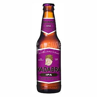 Kadabra IPA cerveza rubia de León Botella 33 cl