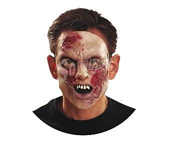 MY OTHER ME Máscara de zombie infectado para hombre, Halloween Máscara zombie hombre