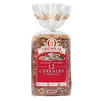 Bimbo Pan de molde Oroweat 12 cereales y semillas Bolsa de 680 g