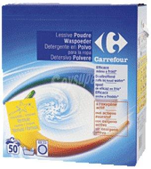 Carrefour Detergente en polvo 50 cacitos