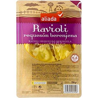 Aliada Ravioli relleno de requesón y berenjena Envase 250 g
