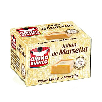 Omino Bianco Jabon en pastilla de Marsella 250 gr