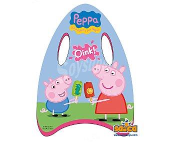 PEPPA PIG Minitabla de body board recubieta de PVC de 45 centímetros y con imágenes los personajes de la serie Peppa Pig 1 unidad