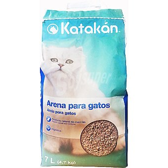 KATAKÁN Arena absorbente para gatos  bolsa 7 l