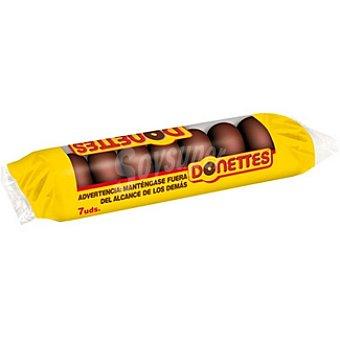 Donettes Donettes Clásicos de chocolate 126 g (7 uds)