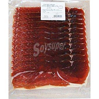 Don saturnino Jamón ibérico de bellota de salamanca en lonchas Sobre 200 g