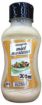 HACENDADO Salsa vinagreta miel y mostaza refrigerada Botella 300cc