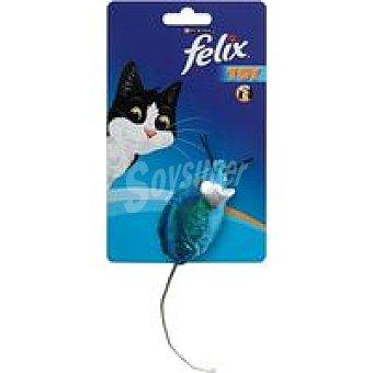 Felix Purina Juguete para gato ratón brillante Pack 1 unid