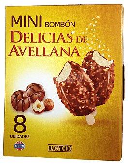 HACENDADO Delicias de avellana mini bombón Caja 90 g