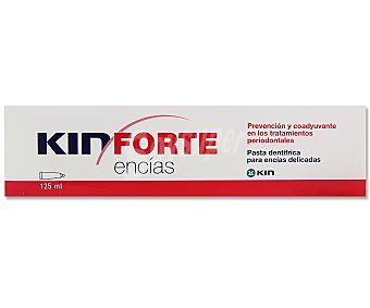 KIN Pasta de dientes especial para encías delicadas 125 mililitros