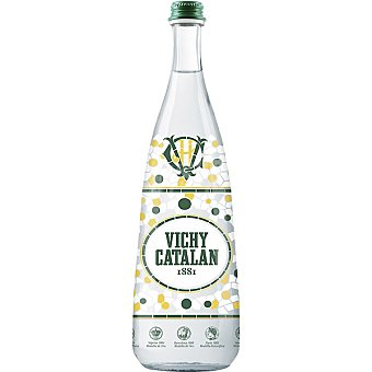 Vichy Catalan Agua mineral natural con gas Botella 75 cl