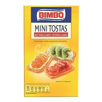 Bimbo Mini tostas normales  Caja 100 g
