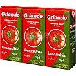 Tomate frito con aceite de oliva virgen extra pack 3 envase 350 g Orlando