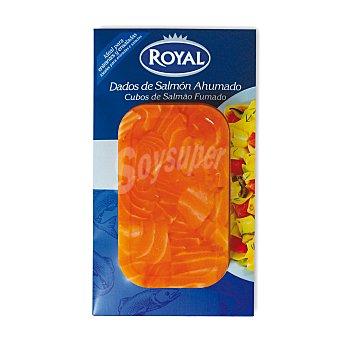 Royal Dados de salmón ahumado con queso Envase 120 gr