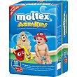 Pañal bañador Aqua Kids desechable 11 a 15 kg  Paquete 11 unidades Moltex