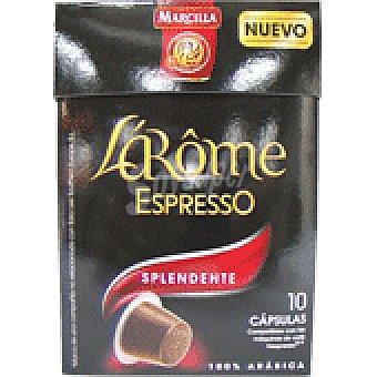 L'Arôme Espresso Marcilla Café Splendente Cápsulas L'Arôme Espresso - Intensidad 7 10 ud.