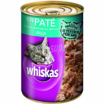 Whiskas Alimento con atún gatos Lata 400 g