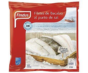 Findus Filetes de bacalao al punto de sal 380 gramos