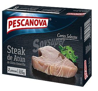 Pescanova Steak de atún de aleta amarilla, ultacongelado cortes selectos 225 g
