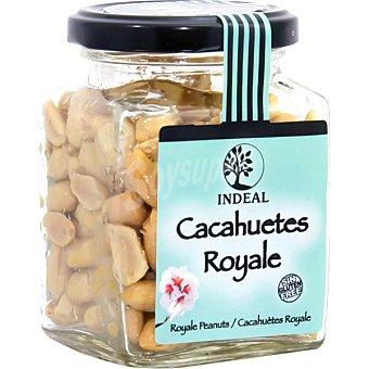 INDEAL cacahuetes Royal fritos sin piel  frasco 140 g