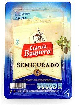 García Baquero Queso semicurado mezcla Bandeja 200 g