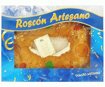 Auchan Roscón de Reyes Mediano con Relleno 700 Gramos