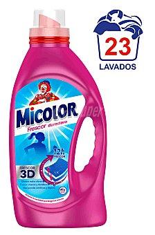 MICOLOR Fresh Detergente gel ropa sintética Garrafa 23 dosis