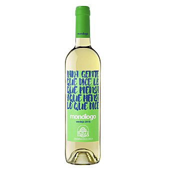 MONOLOGO Vino blanco verdejo D.O. Rueda  Botella 75 cl