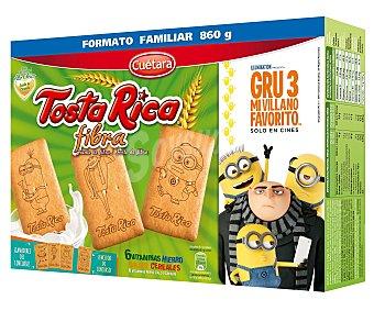 Tosta Rica Galleta con fibra Caja 800 g