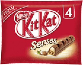 Kit Kat Nestlé Choc. nestle sensens Pack 4 124 GRS