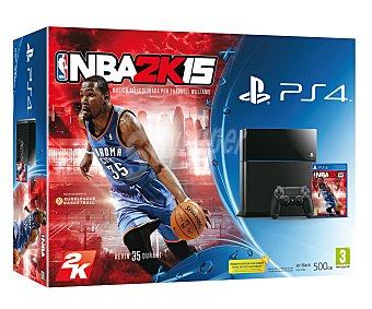 SONY Cónsola Playstatión 4 + Juego NBA 2K15 1 Unidad