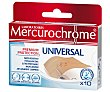 Apósito universal 10 uds Mercurochrome