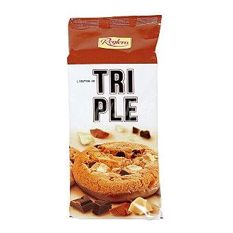 REGLERO galletas Cookies con 3 chocolates estuche 200 g