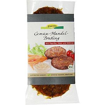Granovita Hamburguesa vegetal con almendra Pack 2 envase 200 g