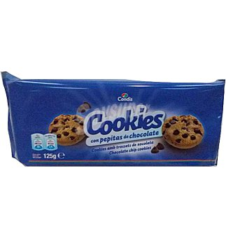 Condis Cookies pepitas choco 125 G