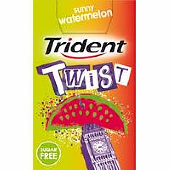 TRIDENT TWIST sandía Chicle 20 gramos