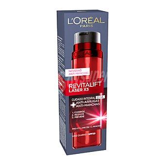 Revitalift L'Orèal Paris Serum Laser X3 cuidado integral Día, antiarrugas y antimanchas 30 ml