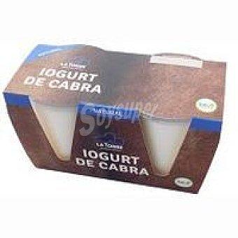 LATORRE Iogurt de cabra Pack 2x125 g