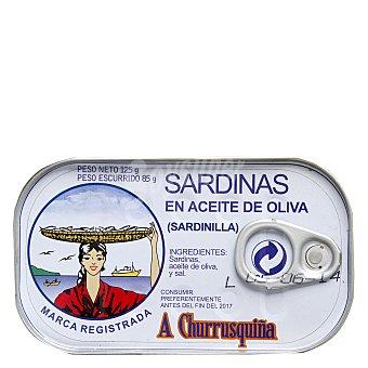 A Churrusquiña Sardinas en aceite de oliva 85 g