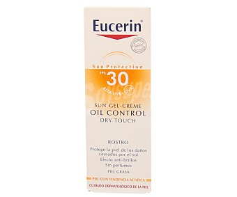 Eucerin Protección solar diaria para pieles grasas y/o con tendencia acnéica con factor protección 30 50 ml