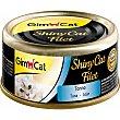SHINY CAT alimento húmedo para gatos filetes de atún envase 70 g envase 70 g Gimpet