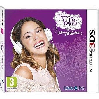NINTENDO Videojuego Violetta: Ritmo & Música para 3DS