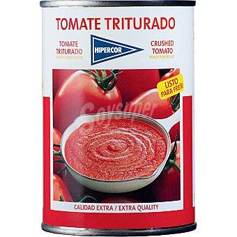 Hipercor Tomate natural triturado Lata 400 g
