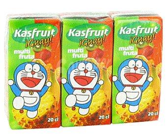 Kasfruit Néctar Multifruta 3x20cl